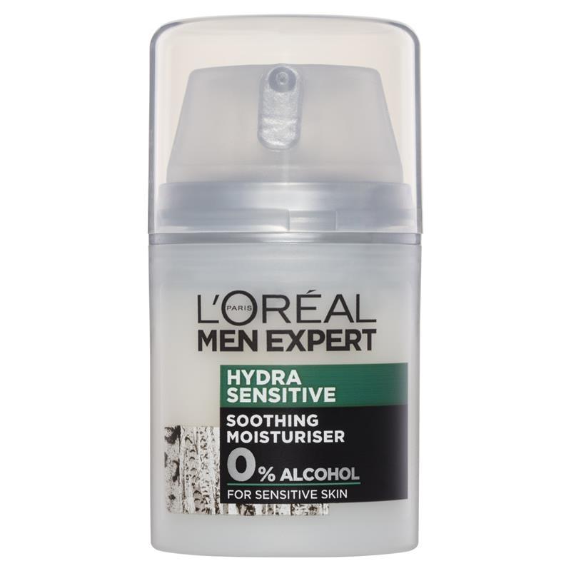 L'Oreal Men Expert Hydra Sensitive Moisturiser Cream 50mL