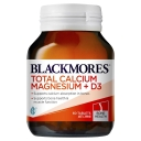 Blackmores Total Calcium + Magnesium 60 Tablets