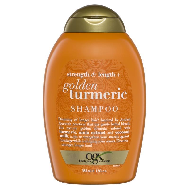 OGX Golden Milk + Tumeric Shampoo 385ml