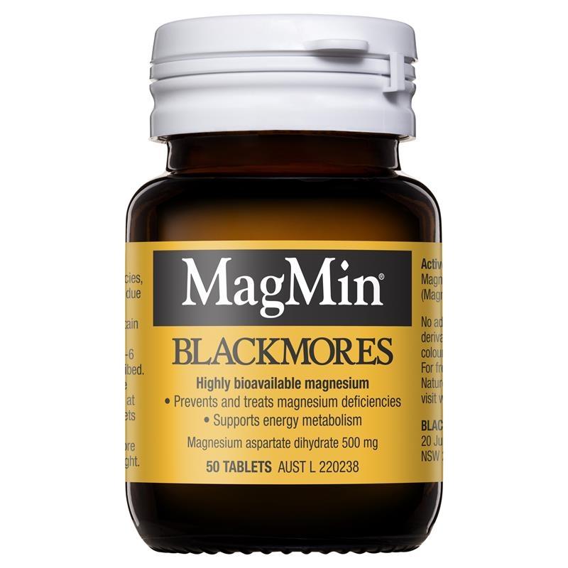 Blackmores Magmin 500mg 50 Tablets