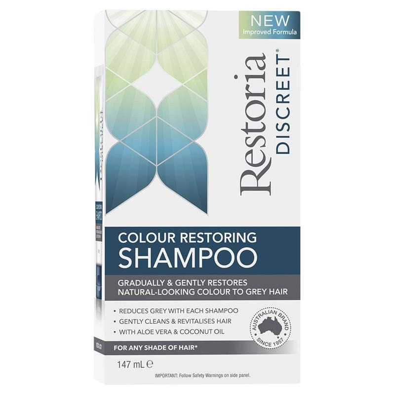Restoria Discreet Colour Restoring Shampoo 147ml
