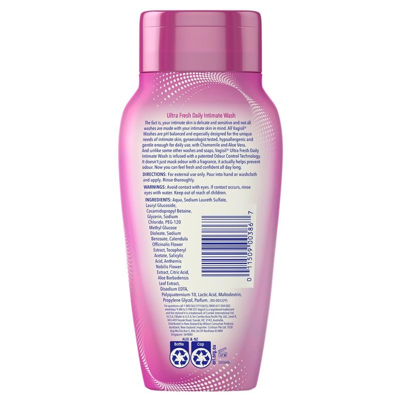 Dung dịch vệ sinh phụ nữ Vagisil Intimate Wash Ultra Fresh 240ml