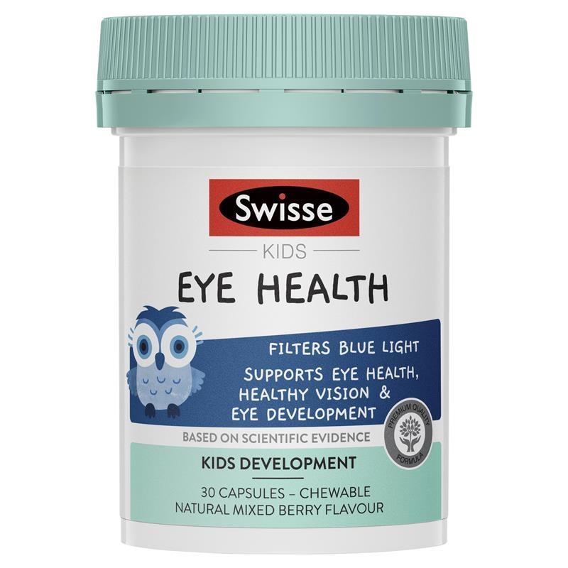 Bổ mắt cho trẻ Swisse Kids Eye Health 30 Capsules