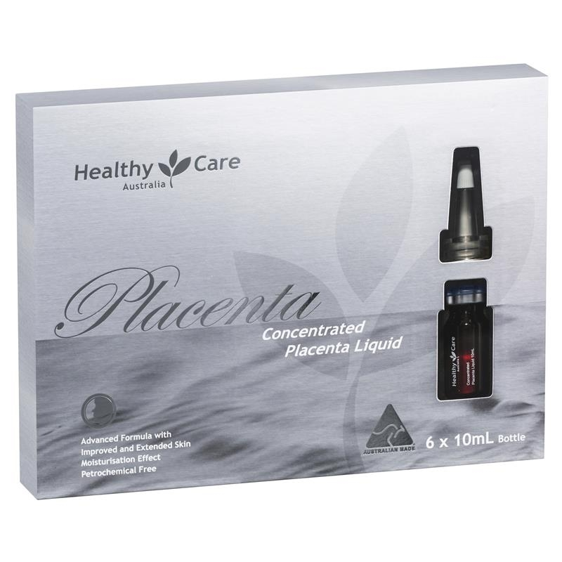 Healthy Care Concentrated Placenta Liquid 10ml 6 Pack