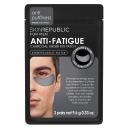 Skin Republic Mens Anti-Fatigue Charcoal Under Eye Patch 3 Pack