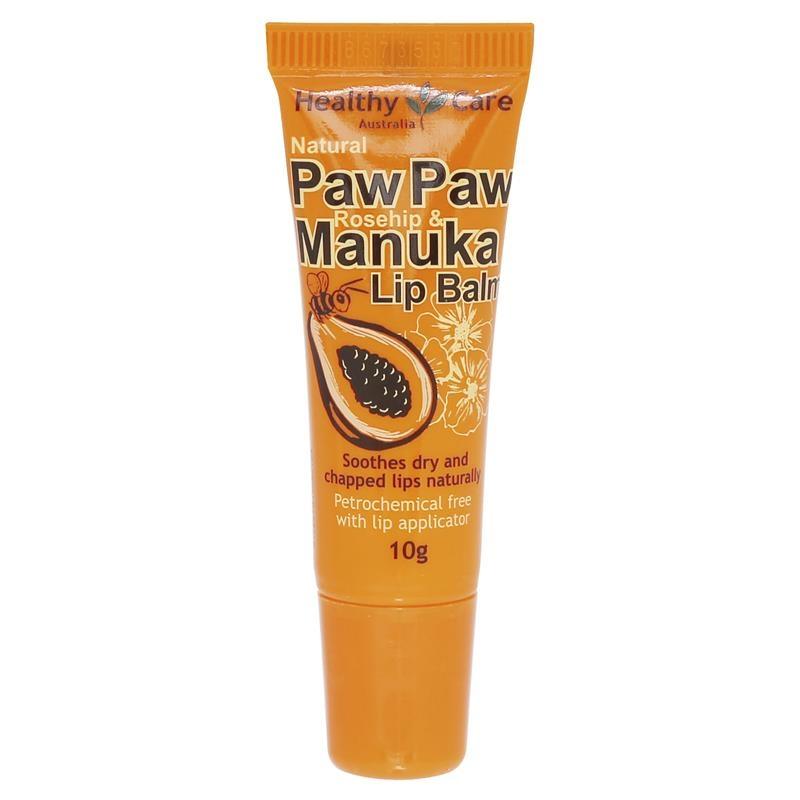 Healthy Care Paw Paw Rosehip & Manuka Lip Balm 10g