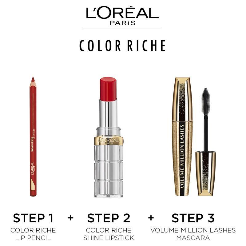 L'Oreal Colour Riche Shine Addiction Lipstick 245 High On Craze