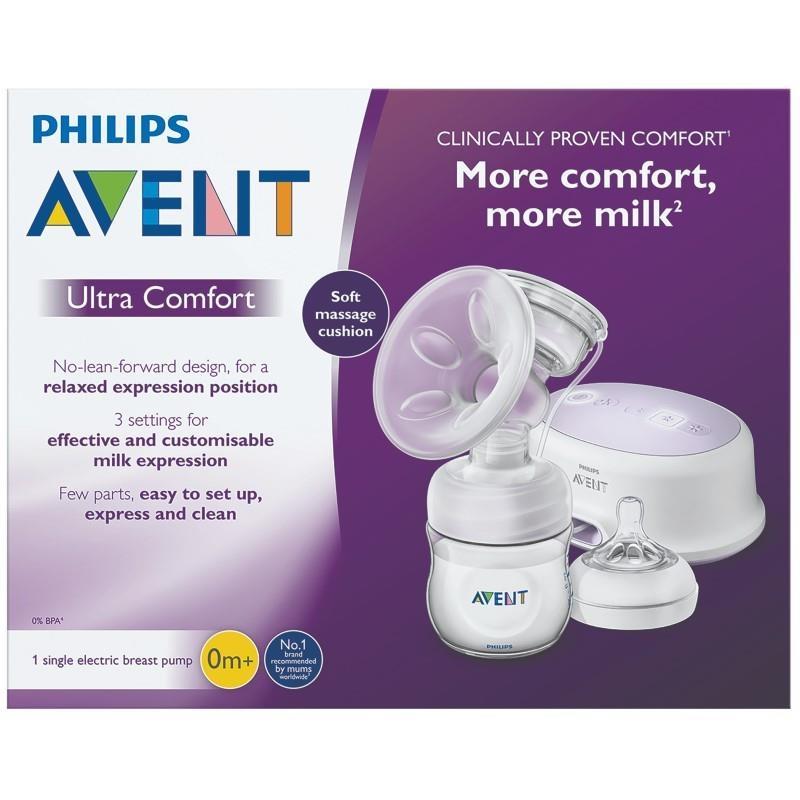 Máy hút sữa điện đơn Avent Ultra Comfort Electric Breast Pump
