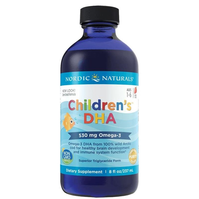 Nordic Naturals Children's DHA Strawberry Liquid 237ml