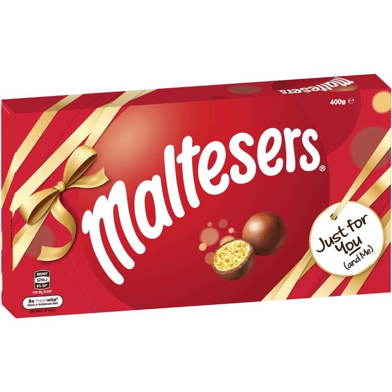 Maltesers Milk Chocolate Gift Box 400g