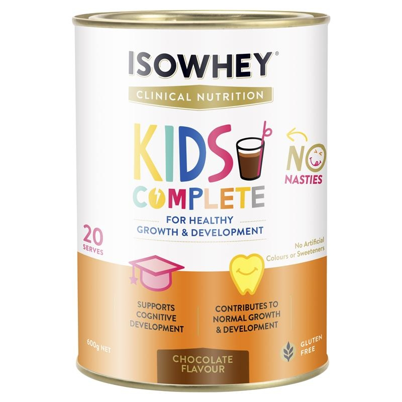 IsoWhey Clinical Nutrition Kids Complete Chocolate 600g