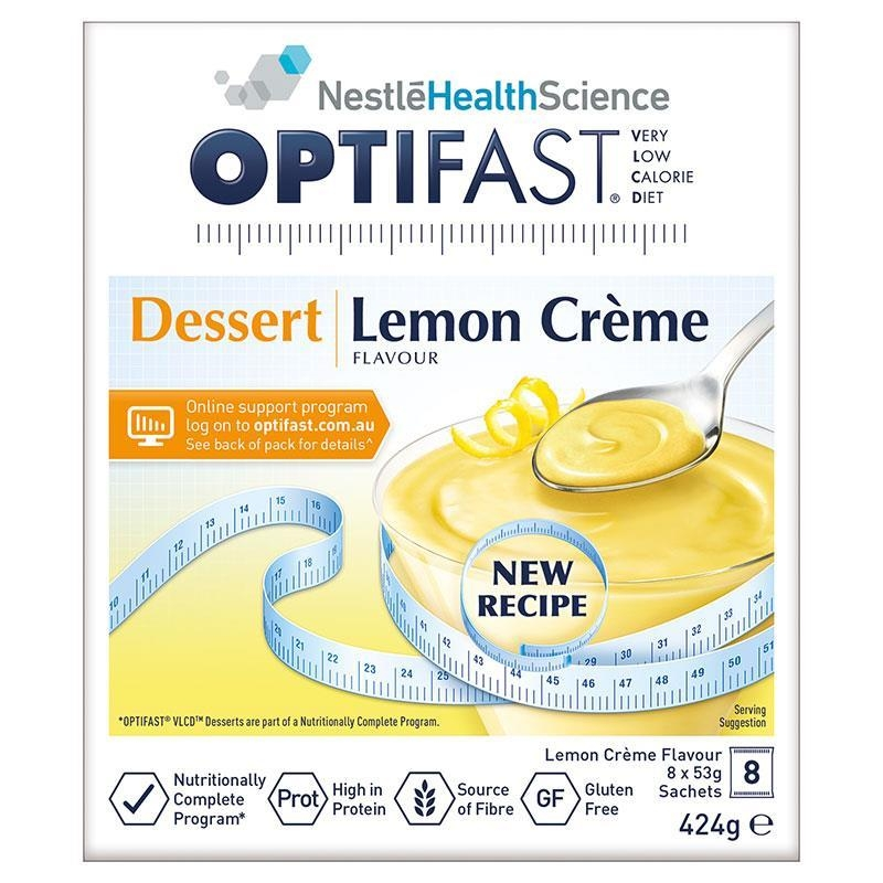 Optifast VLCD Lemon Dessert 8x53g