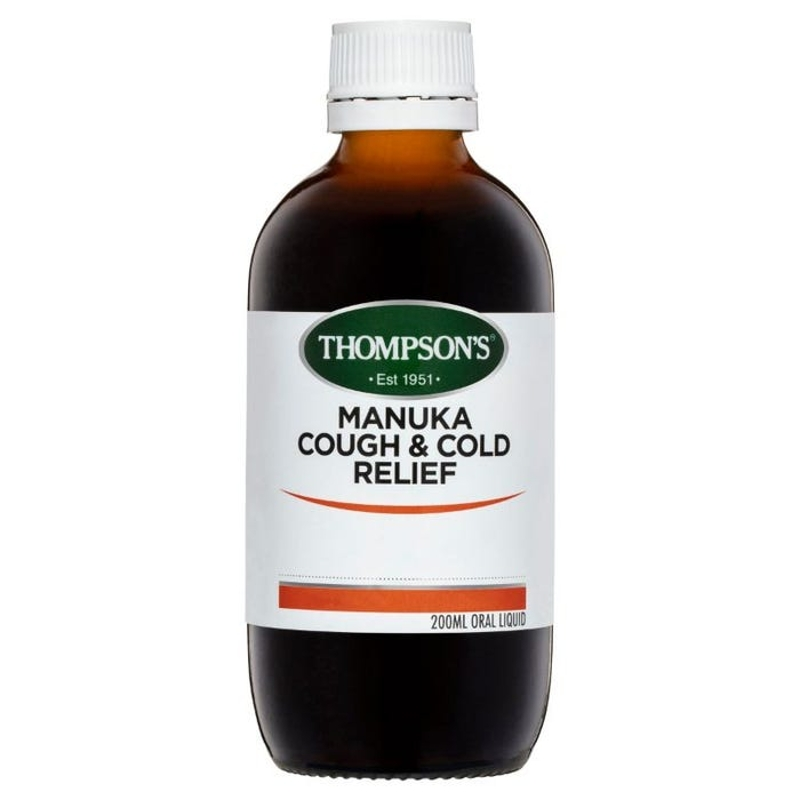 Thompson's Manuka Cough & Cold Relief 200ml
