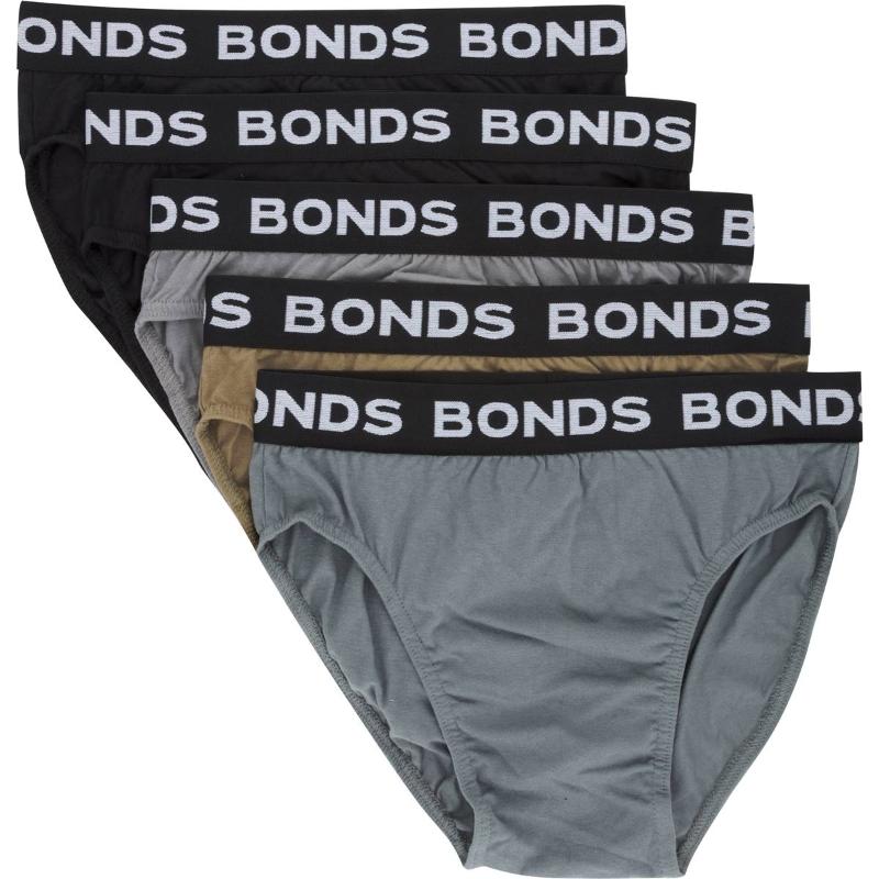 Bonds Mens Underwear Hipster Brief Medium 5 pack