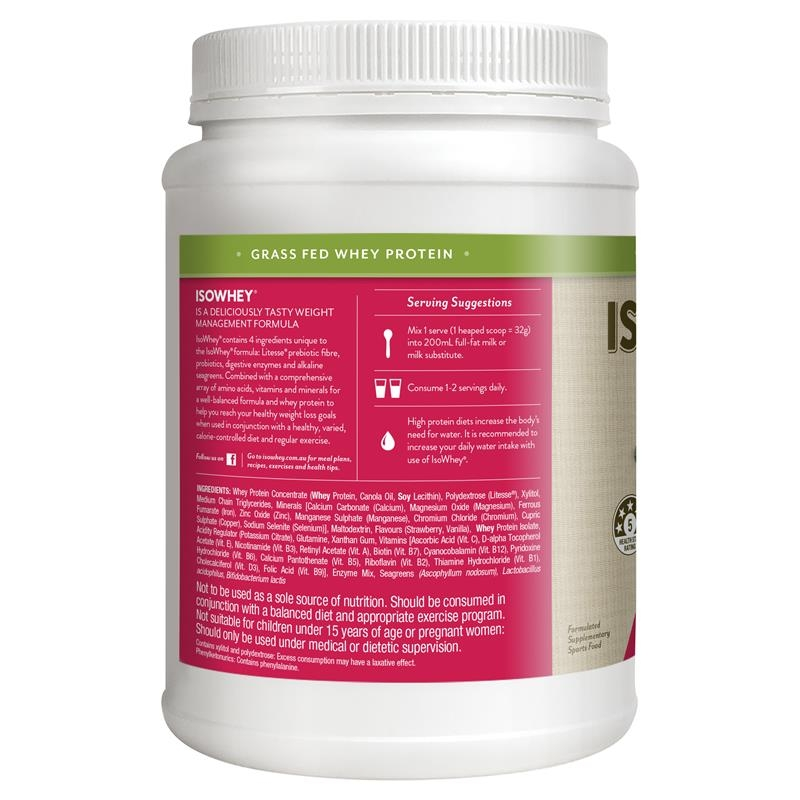 IsoWhey Complete Strawberry Smoothie 672g
