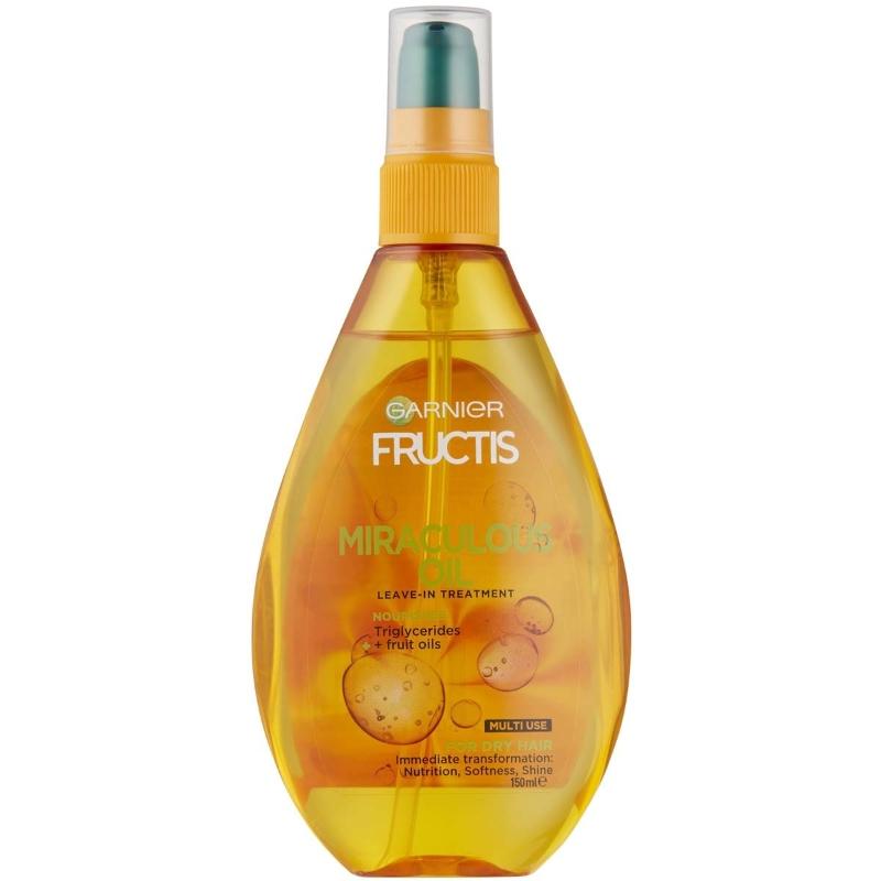 Garnier Fructis Miraculous Oil Leave- In Hair Treatment 150ml