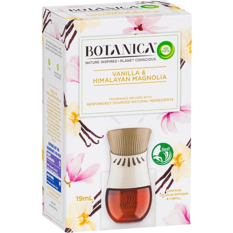 Air Wick Botanica Vanilla & Himalayan Magnolia Diffuser + Refill 19ml