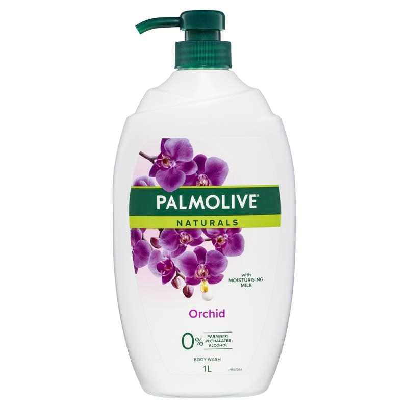 Sữa tắm Palmolive Naturals Body Wash Milk & Orchid Shower Gel 1L