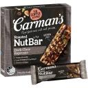 Carman's Dark Choc Espresso Nut Bars 160g