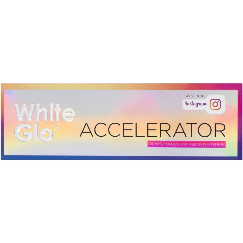 Máy ngậm trắng răng White Glo White Accel Blue Light Kit each