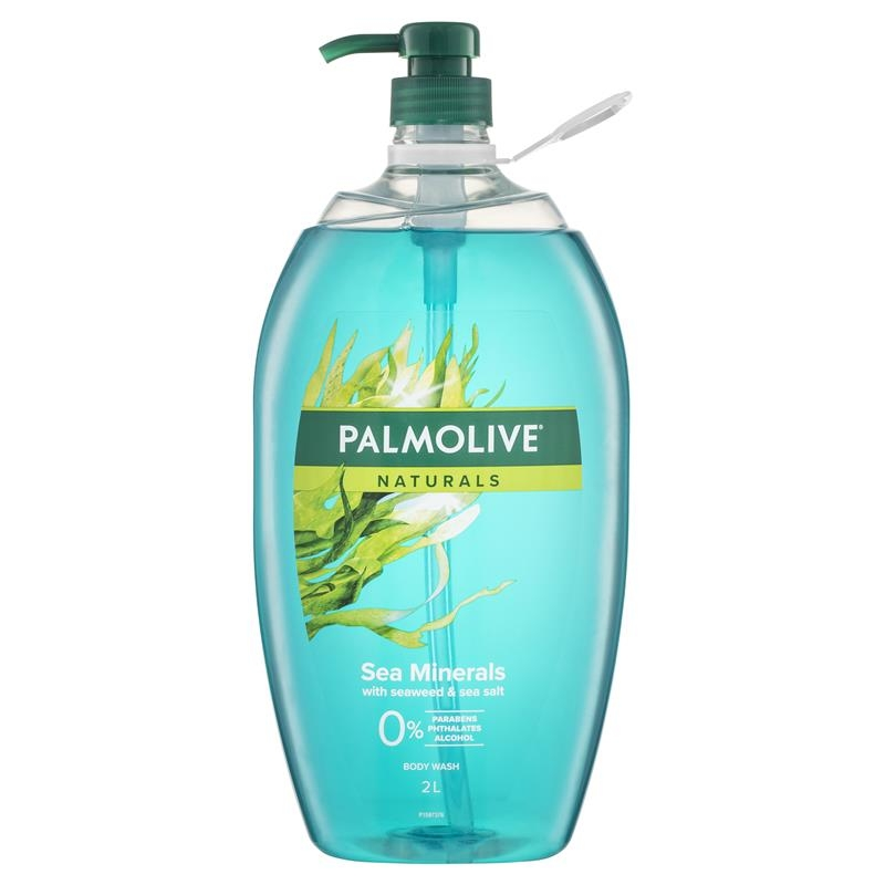 Sữa tắm Palmolive Naturals Body Wash Sea Minerals Shower Gel 2L