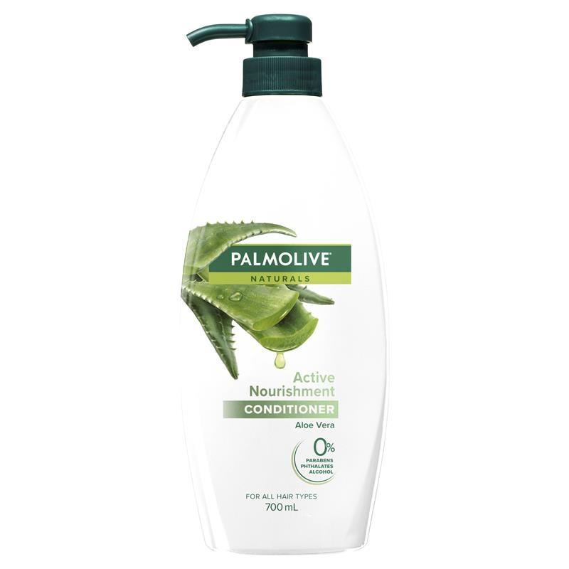 Dầu xả Palmolive Naturals Active Nourishment Normal Hair Conditioner Aloe Vera & Fruit Vitamins 700mL