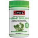 Swisse Organic Spirulina 1000mg 200 Tablets
