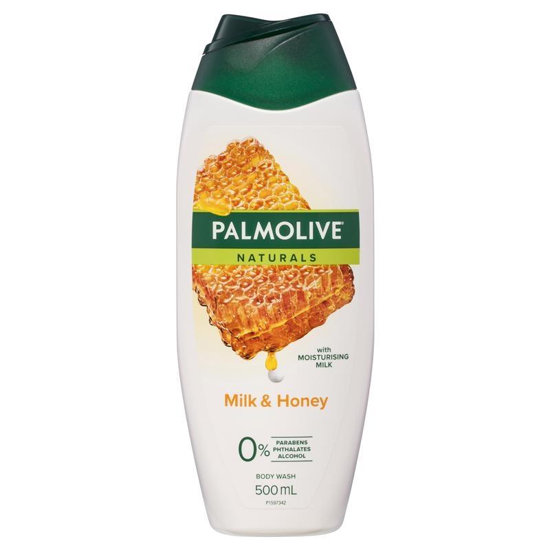 Sữa tắm Palmolive Naturals Body Wash Milk & Honey Shower Gel 500ml