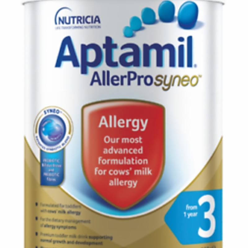 Aptamil AllerPro Syneo 3 Allergy Premium Toddler Milk Drink From 1 Year 900g