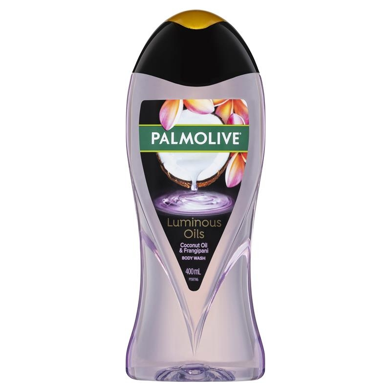 Sữa tắm Palmolive Luminous Oils Body Wash Enriching Coconut Oil with Frangipani 400mL