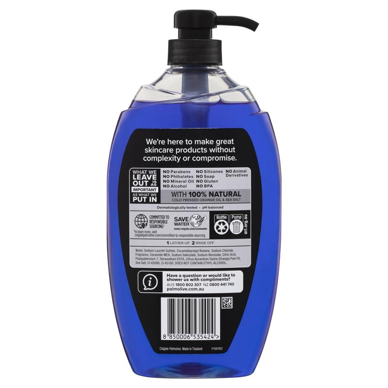 Sữa tắm cho nam Palmolive Men Body Wash Active with Sea Minerals Shower Gel 1L