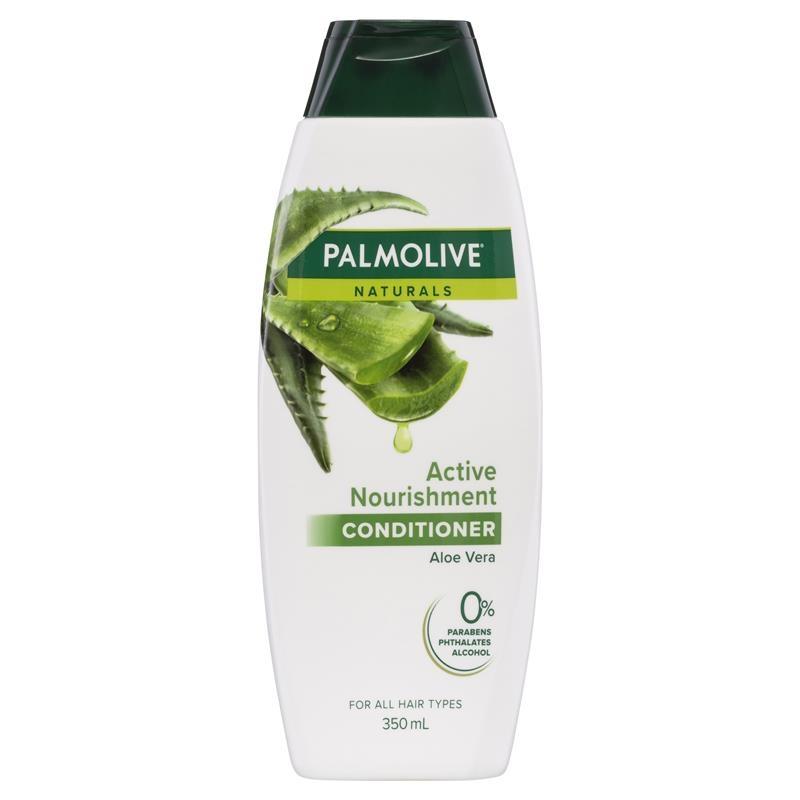 Dầu xả tóc thường Palmolive Naturals Active Nourishment Normal Hair Conditioner Aloe Vera & Fruit Vitamins 350mL