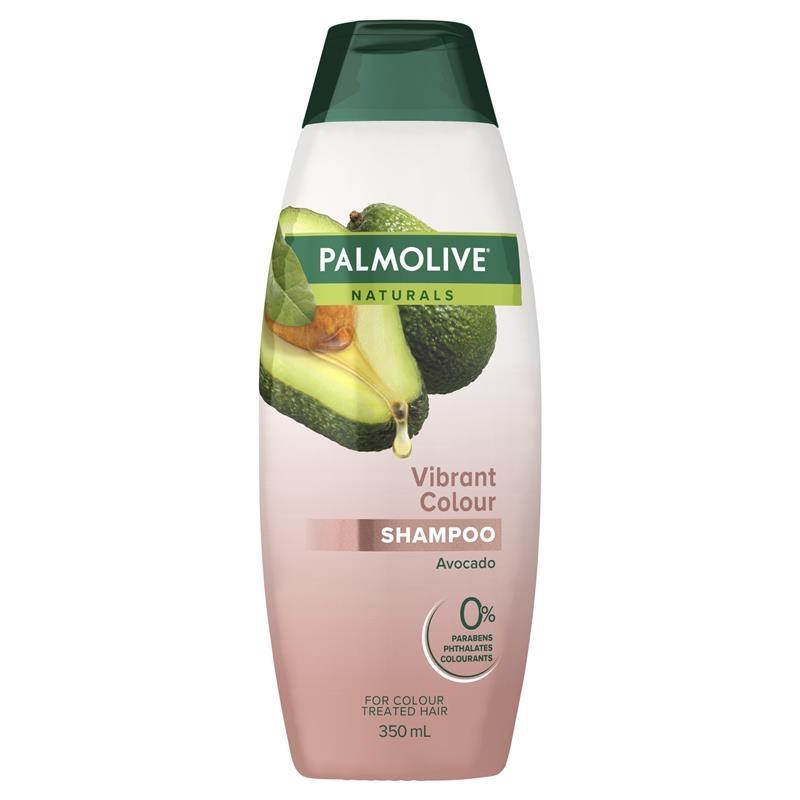 Dầu gội dành cho tóc nhuộm Palmolive Naturals Vibrant Colour Treated Hair Shampoo Pomegranate & Avocado 350mL