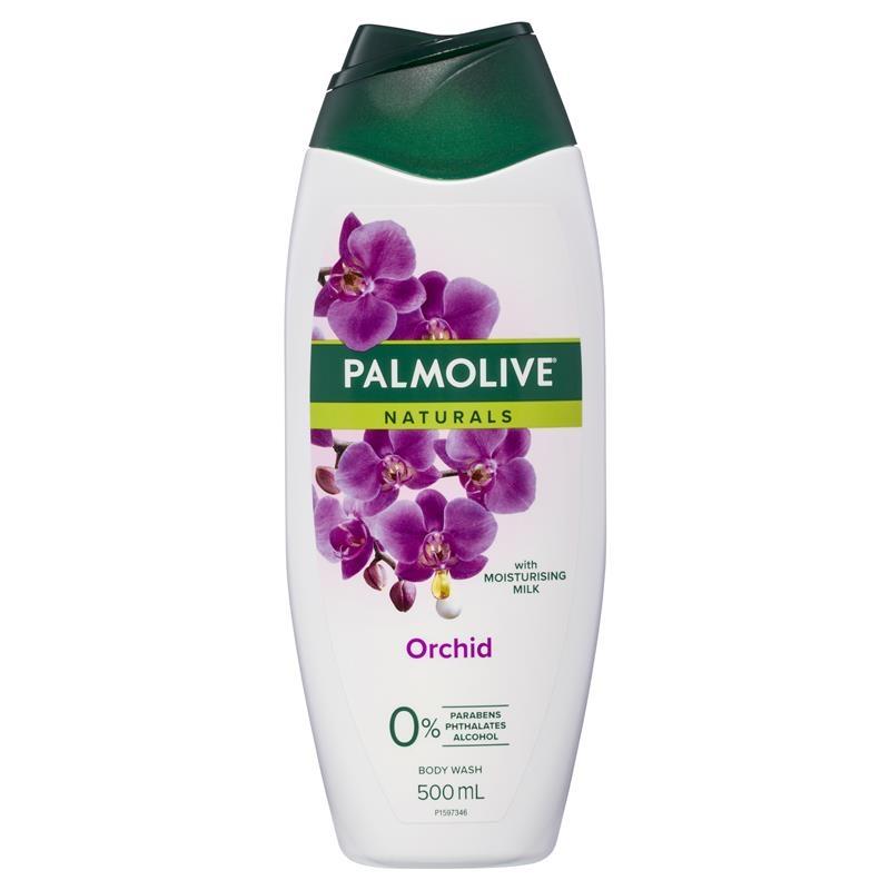 Sữa tắm Palmolive Naturals Body Wash Milk & Orchid Shower Gel 500ml