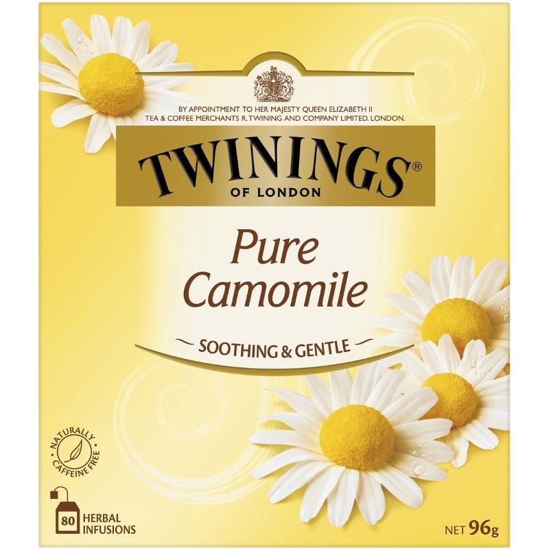 Túi trà hoa cúc La Mã nguyên chất Twinings 80 gói