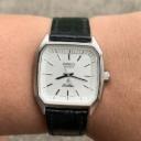 Seiko Silver Wave Quartz 8221-5000 Vintage Mens Watch
