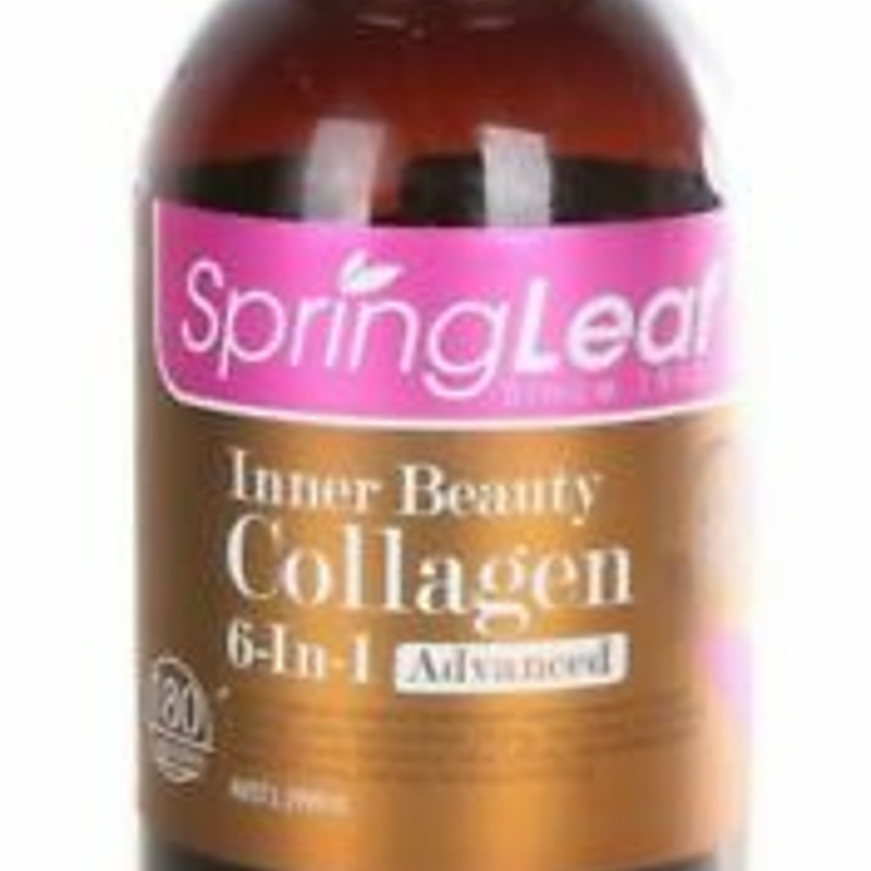 Viên uống bổ sung Collagen - Spring Leaf Inner Beauty Collagen 6 in 1 Advanced 180 Capsules