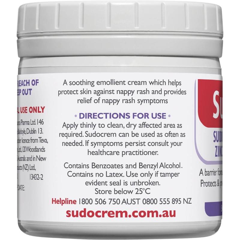 Sudocrem Nappy Cream Healing 125g