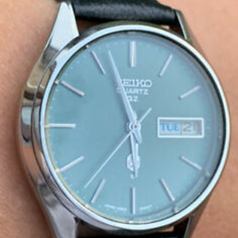1975 Seiko Quartz QZ Vintage Mens Watch 0923-8000