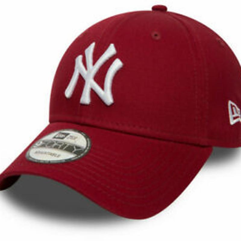 NY Yankees New Era 940 Essential Cardinal Baseball Cap