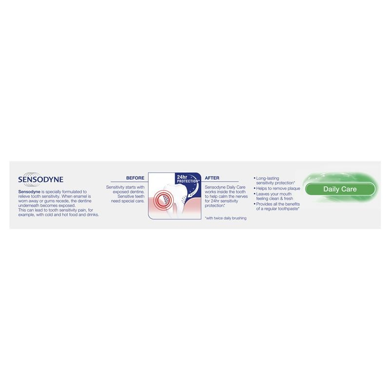 Sensodyne Sensitive Teeth Pain Daily Care Toothpaste 160g (Exclusive Size)
