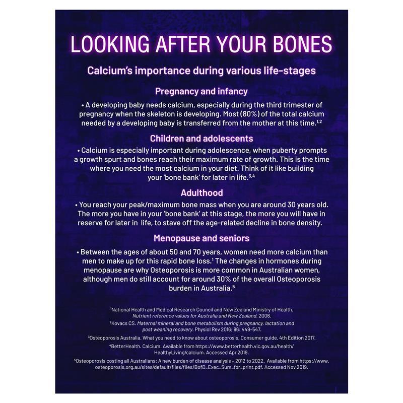 Viên uống bổ sung Canxi  60v - Ostelin Cal-DK2 - Calcium & Vitamin D - 60 Tablets
