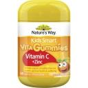 W-Kẹo vitamin Nature's Way Kids Smart Vita Gummies Vitamin C + Zinc 60 pack