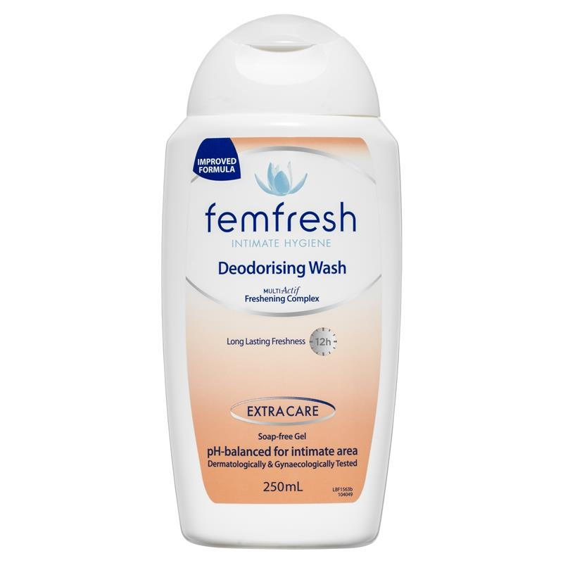 Dung dịch vệ sinh - Femfresh Deodorising Wash 250ml