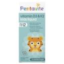 Pentavite Vitamin D3 & K2 Kids Liquid 30ml