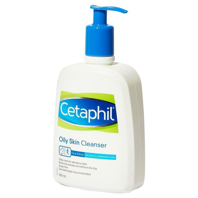 Sữa rửa mặt dành cho da nhờn - Cetaphil Oily Skin Cleanser 500ml