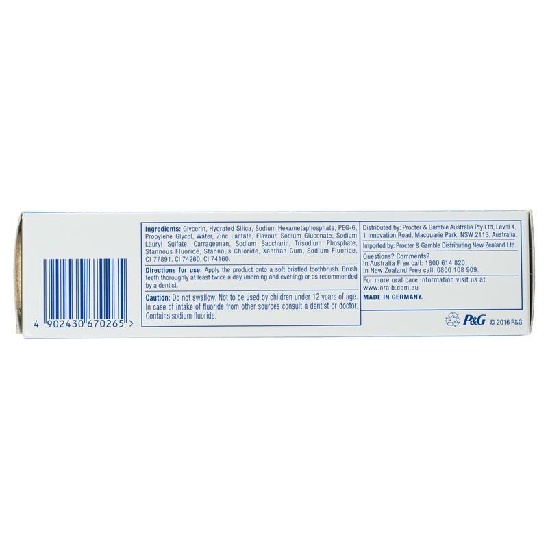Kem đánh răng Oral B Toothpaste Pro Health Advanced Whitening 110g