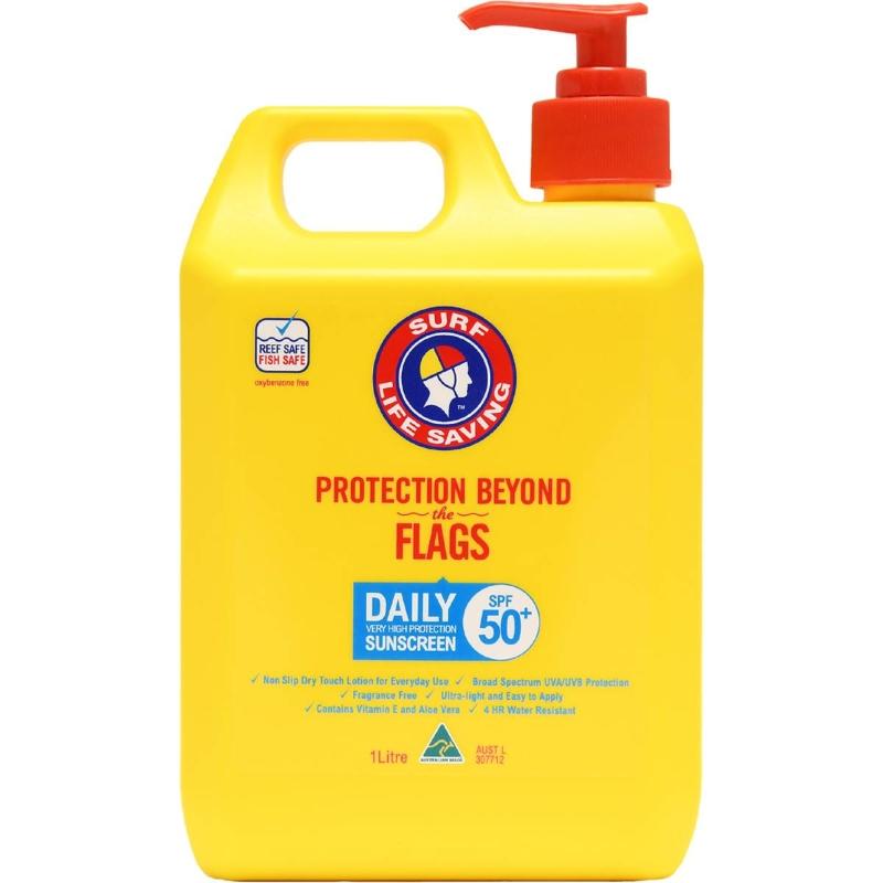 Surf Life Saving Spf50+ Daily Sunscreen 1l