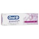 Kem đánh răng làm trắng, giảm ê buốt - Oral B 3D White Whitening Therapy Sensitivity Care Toothpaste 95g