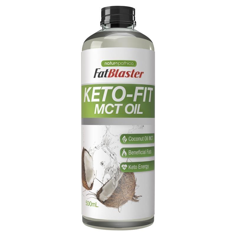 Dầu ăn kiêng Naturopathica Fatblaster Keto Fit MCT Oil 500ml